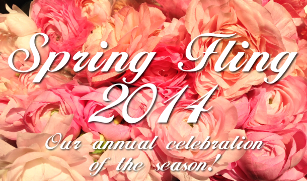 spring fling 2014 graphic