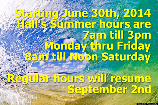 summer hours 2014 wave