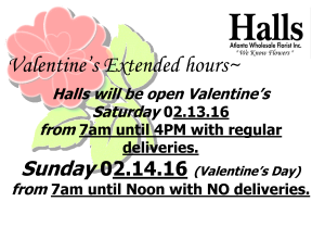 valentines extended hours 2016